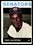 1964 Topps #483  Fred Valentine  Front Thumbnail