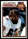 1979 Topps #367  Keith Wortman  Front Thumbnail