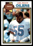 1979 Topps #224  Carl Mauck  Front Thumbnail