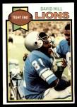 1979 Topps #509  David Hill  Front Thumbnail