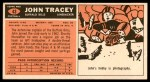 1965 Topps #43  John Tracey  Back Thumbnail