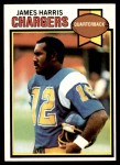 1979 Topps #122  James Harris  Front Thumbnail