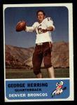 1962 Fleer #44  George Herring  Front Thumbnail