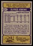 1979 Topps #127  Alfred Jenkins  Back Thumbnail