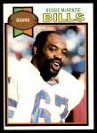 1979 Topps #468  Reggie McKenzie  Front Thumbnail