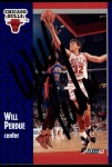 1991 Fleer #32  Will Perdue  Front Thumbnail