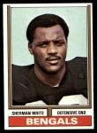 1974 Topps #184  Sherman White  Front Thumbnail