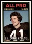 1974 Topps #139   -  Phil Villapiano  All-Pro Front Thumbnail