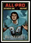 1974 Topps #133   -  Bill Stanfill All-Pro Front Thumbnail