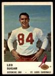 1961 Fleer #28  Leo Sugar  Front Thumbnail