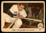 1959 Fleer #35   -  Ted Williams  Sox Miss Pennant Front Thumbnail