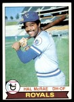 1979 Topps #585  Hal McRae  Front Thumbnail