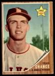 1962 Topps #194 GRN Dean Chance  Front Thumbnail