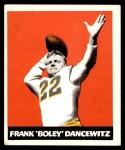 1948 Leaf #38  Frank Dancewicz  Front Thumbnail