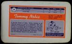 1970 Topps Super #29  Tommy Nobis  Back Thumbnail