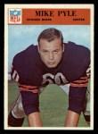1966 Philadelphia #37  Mike Pyle  Front Thumbnail