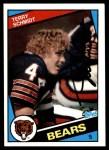 1984 Topps #231  Terry Schmidt  Front Thumbnail