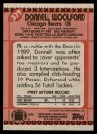 1990 Topps #379  Donnell Woolford  Back Thumbnail