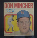 1970 Topps Poster #17  Don Mincher  Front Thumbnail