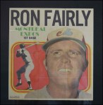 1970 Topps Poster #10  Ron Fairly  Front Thumbnail