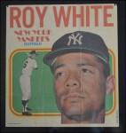 1970 Topps Poster #14  Roy White  Back Thumbnail