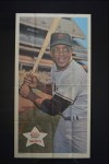 1968 Topps Baseball Posters #20  Willie Mays  Front Thumbnail