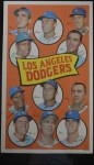 1969 Topps Team Poster #22   Los Angeles Dodgers Front Thumbnail