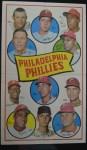 1969 Topps Team Poster #8   Philadelphia Phillies Front Thumbnail