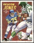 1970 Topps Poster #8  Deacon  Jones  Front Thumbnail