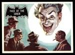 1966 Topps Batman Black Bat #9   Face of the Joker Front Thumbnail