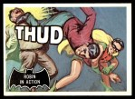 1966 Topps Batman Black Bat #18   Robin in Action Front Thumbnail