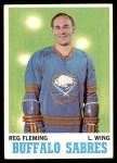 1970 Topps #128  Reg Fleming  Front Thumbnail
