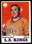 1970 Topps #31  Denis DeJordy  Front Thumbnail