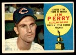 1960 Topps #324  Jim Perry  Front Thumbnail