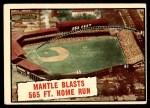 1961 Topps #406   -  Mickey Mantle Baseball Thrills Front Thumbnail
