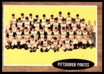 1962 Topps #409   Pirates Team Front Thumbnail