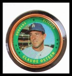1971 Topps Coins #45  Claude Osteen  Front Thumbnail