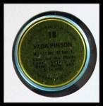 1971 Topps Coins #18  Vada Pinson  Back Thumbnail