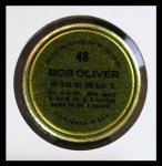 1971 Topps Coins #48  Bob Oliver  Back Thumbnail