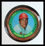1971 Topps Coins #149  Johnny Bench  Front Thumbnail