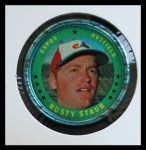 1971 Topps Coins #111  Rusty Staub  Front Thumbnail