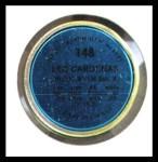 1971 Topps Coins #148  Leo 'Chico' Cardenas  Back Thumbnail