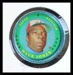 1971 Topps Coins #135  Mack Jones  Front Thumbnail