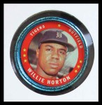 1971 Topps Coins #130  Willie Horton  Front Thumbnail