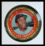1971 Topps Coins #148  Leo 'Chico' Cardenas  Front Thumbnail
