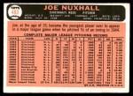 1966 Topps #483  Joe Nuxhall  Back Thumbnail