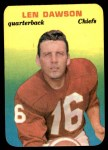 1970 Topps Glossy #27  Len Dawson     Front Thumbnail