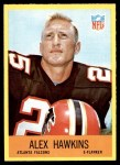1967 Philadelphia #3  Alex Hawkins  Front Thumbnail