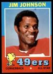 1971 Topps #24  Jimmy Johnson  Front Thumbnail