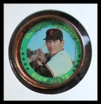 1971 Topps Coins #33  Dick Dietz  Front Thumbnail